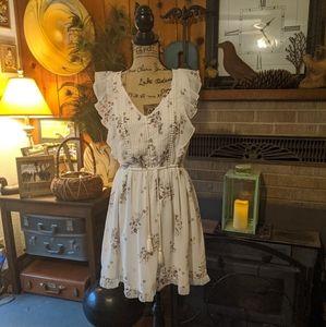 Abercrombie &Fitch mini flowy dress